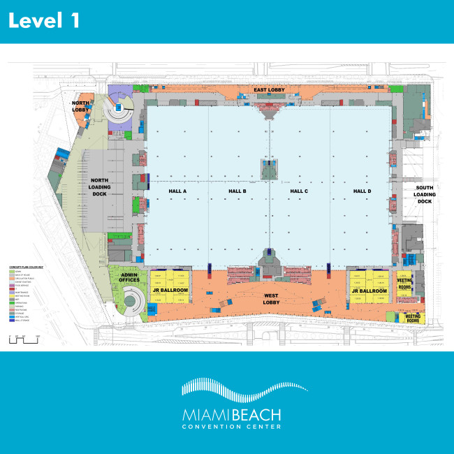StateoftheArt Convention Center in the Heart of Miami – Washington State Convention Center Floor Plan